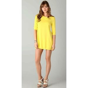 NWT Band of Outsiders Girl. Ruched Sweater Dress